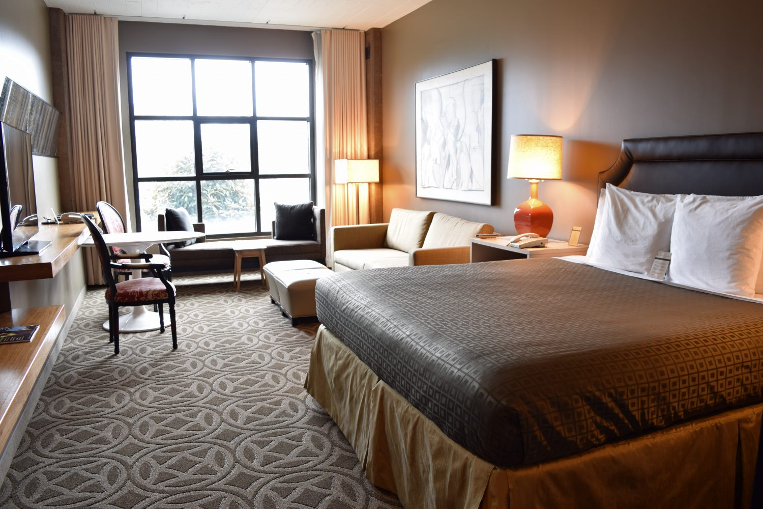 Proximity Hotel Guest Room In Greensboro, NC