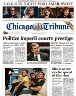 Chicago Tribune Cover